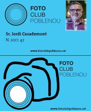 Proposta carnet soci Fotoclub