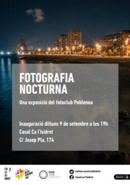 Fotos de l'exposició FOTOGRAFIA NOCTURNA