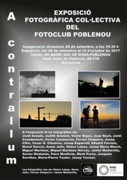 Fotos de l'exposició A CONTRALLUM