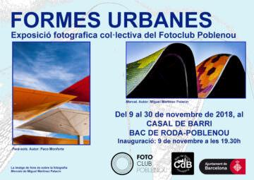 Fotos de l'exposició FORMES URBANES