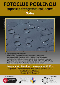Fotos de l'exposició GOTES