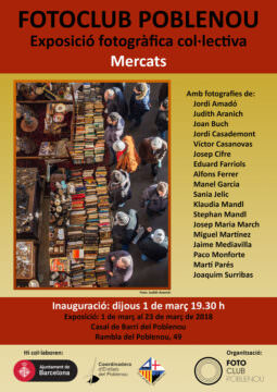 Fotos de l'exposició MERCATS