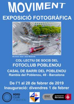 Fotos de l'exposició MOVIMENT