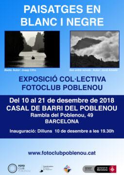 Fotos de l'exposició PAISATGES EN BLANC I NEGRE