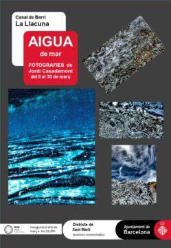 Exposició AIGUA DE MAR