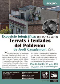 Exposició TERRATS I TEULADES DEL POBLENOU