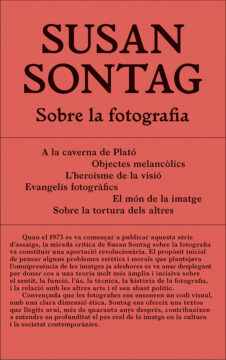 SOBRE LA FOTOGRAFIA - Susan Sontag